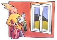 эксплуатация и уход за окнами KOMMERLING