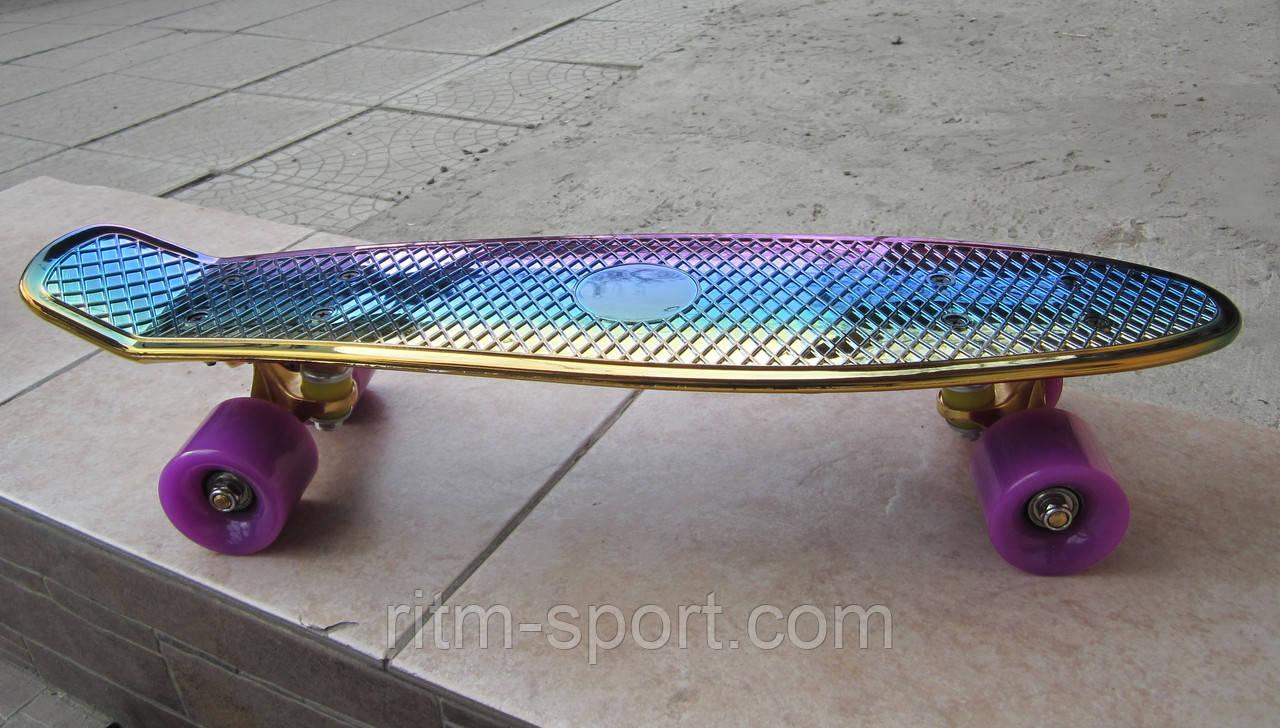 Скейтборд пластиковый Penny TONED MIXCOLOR