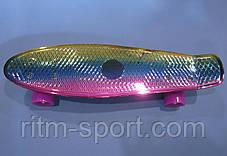 Скейтборд пластиковый Penny TONED MIXCOLOR , фото 2
