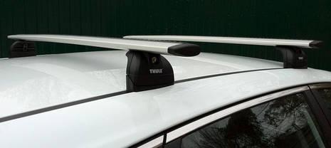 Багажник Thule-753 WingBar (алюминиевый плоский)  на крепежные места, фото 3