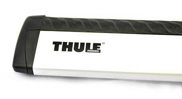 Багажник Thule-753 WingBar (алюминиевый плоский)  на интегрированные рейлинги, фото 2