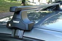 Багажник Thule-754 SquareBar (квадратный стальной) на гладкую крышу