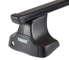 Багажник Thule-754 SquareBar (квадратный стальной) на гладкую крышу, фото 2