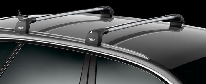Багажник Thule-959 Wingbar Edge (алюминиевый невыступающий) на интегрированные рейлинги