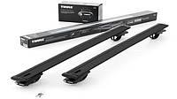 Багажник Thule-775 WingBar Black (алюминиевый плоский) на рейлинги
