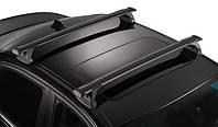 Багажник Whispbar FlushBar Black (алюминиевый невыступающий) на крепежные места