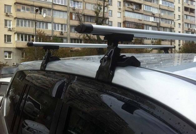 Багажник Amos Dromader Wind  (алюминиевый) на гладкую крышу, фото 2