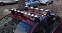 Багажник Amos Dromader Wind Plus (алюминиевый) на гладкую крышу