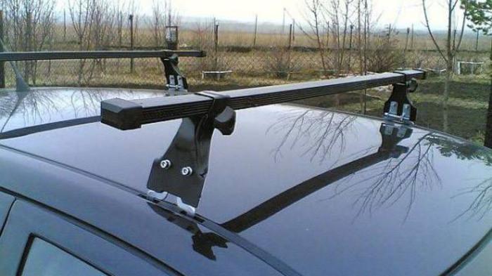 Багажник Amos Polo Stl (стальной) на крепежные места