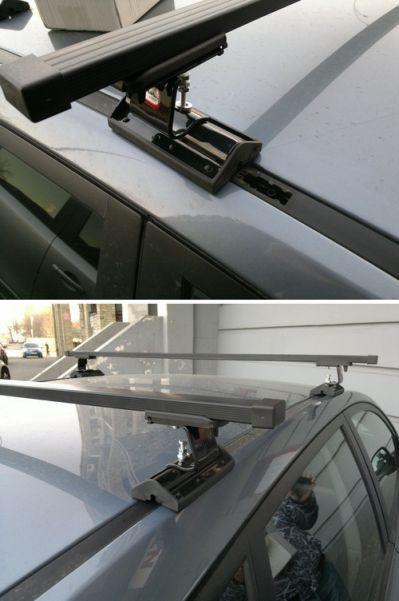 Багажник Amos Dromader С-15 Stl (стальной) на крепежные места