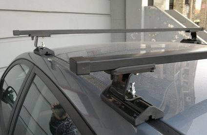 Багажник Amos Dromader С-15 Stl (стальной) на крепежные места, фото 2