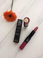 Помада+блеск Mac 2 in 1 Maximum Pro Vitamin Lipstick 3