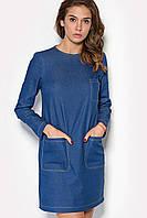 """Платье """"ESSO"""" джинсового цвета осень"""