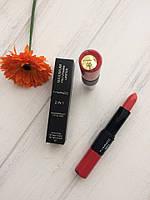 Помада+блеск Mac 2 in 1 Maximum Pro Vitamin Lipstick 5