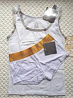 Комплект для сна Calvin Klein майка и трусики, белый