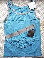 Комплект для сна Calvin Klein майка и трусики, голубой, фото 1