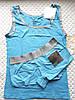Комплект для сна Calvin Klein майка и трусики, голубой