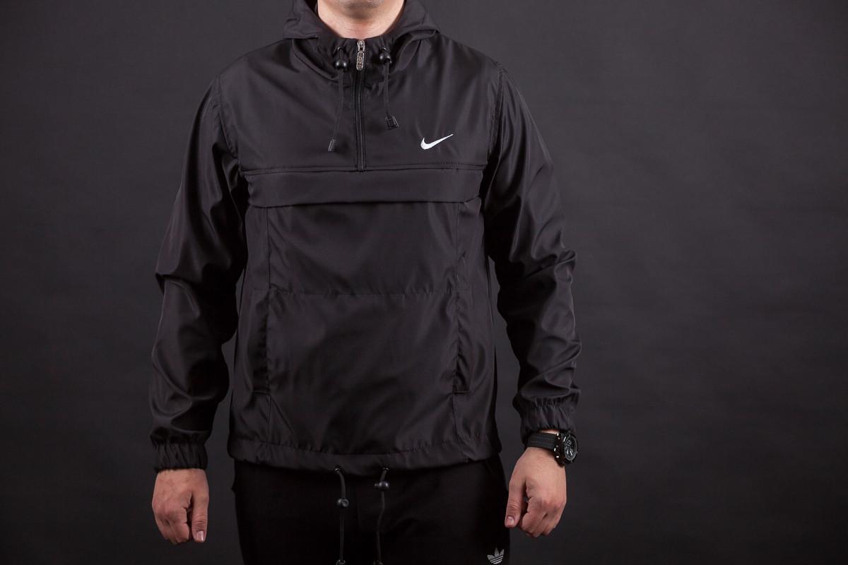 Мужская куртка анорак ветровка виндранер Nike