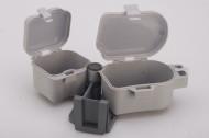 Коробка EOS для наживки на пояс рыбака H-405 (двойная)