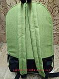 Рюкзаки спортивный найк nike(кожа+ткань катион матовый)спорт городской стильный Рюкзак только оптом, фото 4