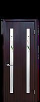 Дверное полотно: Вера. Исполнение: со стеклом Сатин и рисунком Р1.