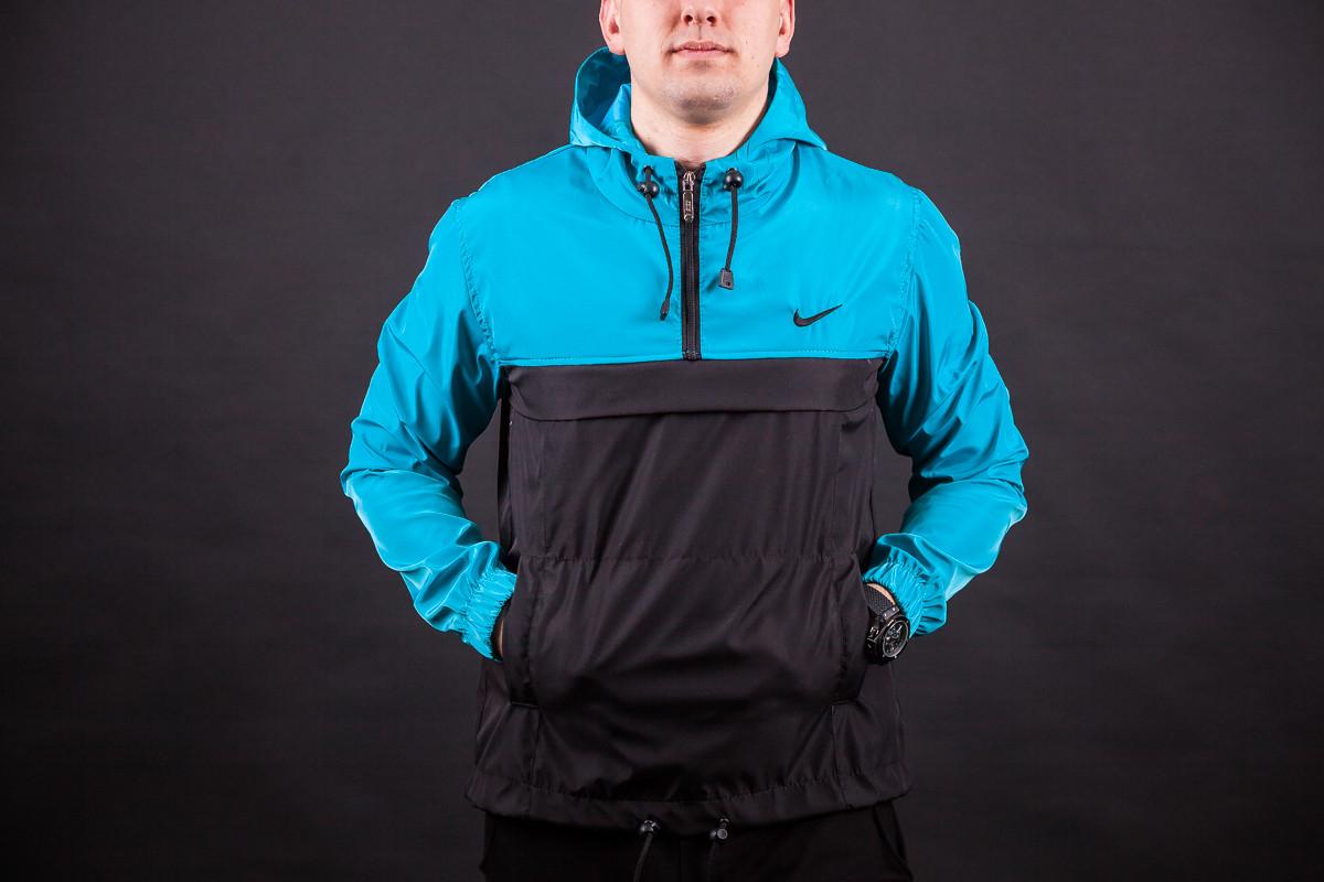 56064aba Мужская куртка анорак ветровка виндранер Nike: продажа, цена в Киеве ...