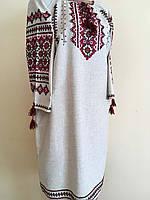 Сукня жіноча вишита в українському стилі ручної роботи розмір 48-50 (XL)