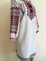 Сукня жіноча вишита в українському стилі ручної роботи розмір 48-50 (XL), фото 1