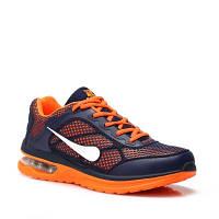 Мужские и подростковые кроссовки Vices b711a-12 р.43,44,45,46 оранжевые