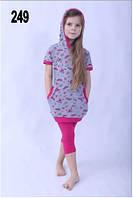 Пижама детская для девочки хлопок польская Wiktoria W 249 комплект