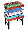 Игровой стол 4 в 1 (аэрохоккей,бильярд,настольный футбол,настольный тенис)