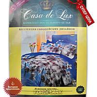 """Комплект постельного белья """"Casa de Lux 100% хлопок"""" - Сакура - 150*220 - Украина"""