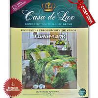 """Комплект постельного белья """"Casa de Lux 100% хлопок"""" - Тигры - 150*220 - Украина"""