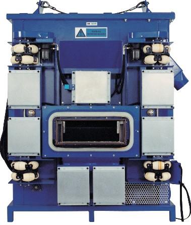 Вертикальные дробеструйные машины для металла