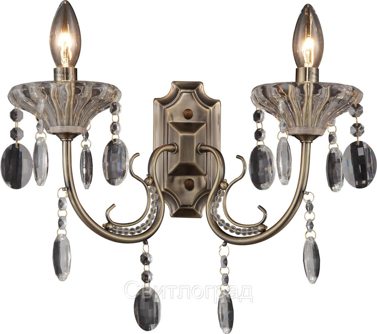 Бра Свеча  Классика  Altalusse INL-1102W-02 Antique Brass