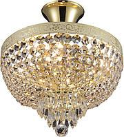 Люстра Хрустальная   Светильник Потолочный Altalusse INL-1115C-04 White Gold