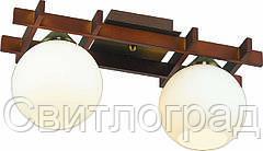 Светильник Потолочный Деревянный    Altalusse INL-3089C-02 Antique Brass & Walnut