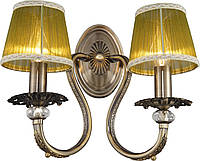 Бра Классика  c Абажурами  Altalusse INL-6116W-02 Antique Brass