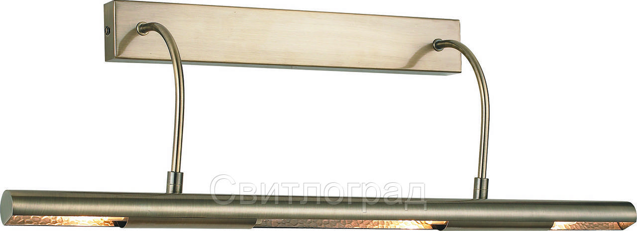 LED Бра для подсветки Картин Зеркал     Altalusse INL-9280W-16 Antique Brass