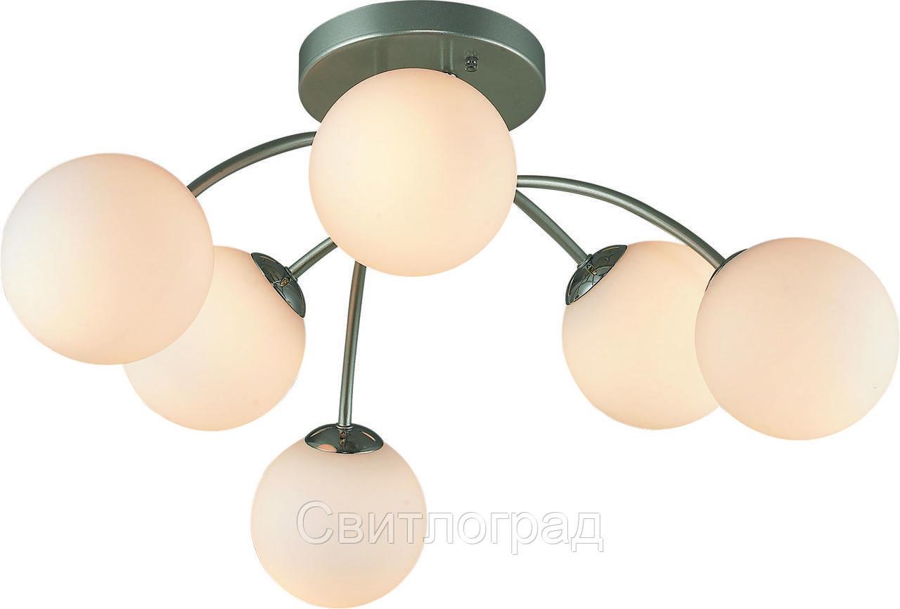 Люстра с Плафонами   Светильник Потолочный Altalusse INL-9297C-06 Aluminium & White