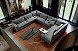 Італійський модульний диван DION фабрика ALBERTA, фото 6