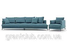 Итальянский диван на высоких ножках ALCOVE фабрика ALBERTA