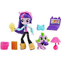 Мини-кукла TWILIGHT SPARKLE® My Little Pony™ Equestria Girls Minis + аксессуары (B6359-B4909)