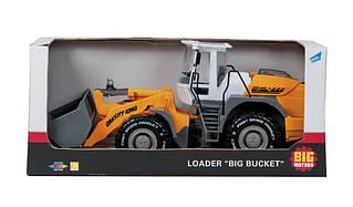 Игрушечные машинки и техника «Big Motors» (9998-3) трактор-погрузчик