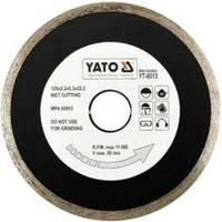 YАТО Диск відрізний алмазний для мокрої різки , 230x2,7x5,3x22,2мм