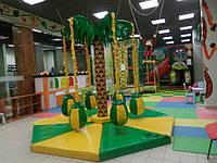Детская карусель ПАЛЬМА-6 - парковая,уличная карусель; для помещений,торговых центров, фото 1