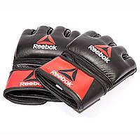 Reebok Перчатки для единоборств COMBAT LEATHER MMA BH7251 - 2017