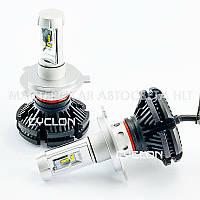 Светодиодная автомобильная лампа головного света Cyclon LED H4 Hi/Low 6000K 6000Lm PH type 7