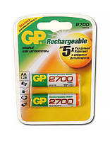 Аккумулятор  GP HR06*2 Ni-MH 2700 mAh (20)