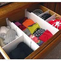 Органайзер для одежды - Expandable Dresser Drawer Dividers